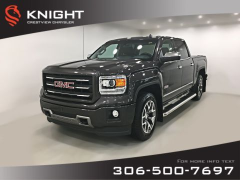 Certified Pre-Owned 2014 GMC Sierra 1500 SLT Crew Cab | Leather | Remote Start