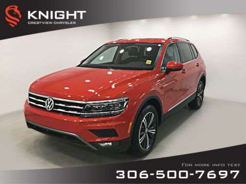 Certified Pre-Owned 2018 Volkswagen Tiguan Highline | Leather | Sunroof | Navigation | Remote Start