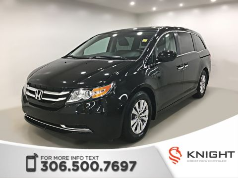 Certified Pre-Owned 2014 Honda Odyssey EX-L | Leather | Sunroof | Navigation