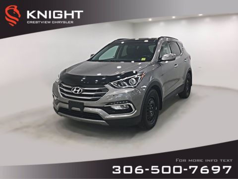 Pre-Owned 2017 Hyundai Santa Fe Sport Premium AWD | Leather | Sunroof