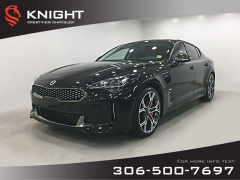 Certified Pre-Owned 2018 Kia Stinger GT AWD | Leather | Sunroof | Remote Start