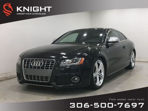 Pre-Owned 2009 Audi S5 Manual | Leather | Sunroof