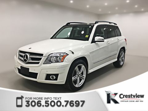 Pre-Owned 2010 Mercedes-Benz GLK 350 AWD | Leather | Sunroof | Navigation