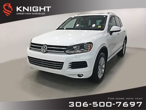 Pre-Owned 2014 Volkswagen Touareg Comfortline | Leather | Sunroof | Navigation